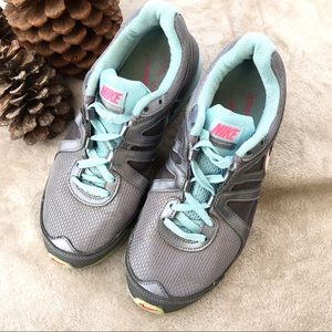 NIKE Air Max Limitless gray aqua running shoes 7.5